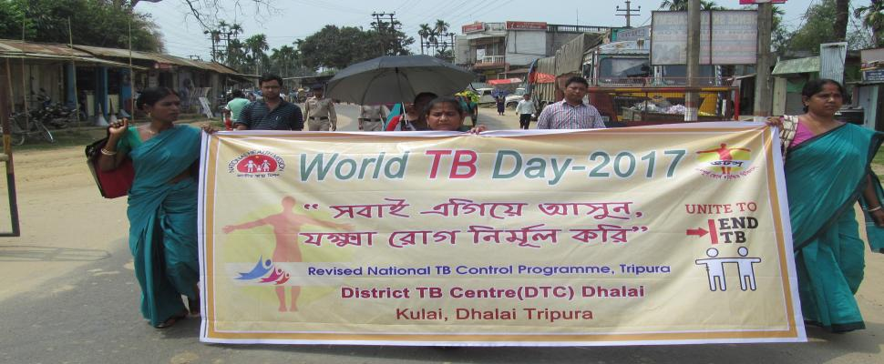 Observance of WORLD TB DAY-2017 at Dhalai District